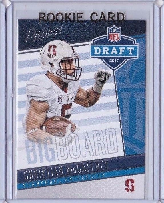 2017 Prestige Draft Big Board Stanford Christian McCaffrey Carolina Panthers  #CarolinaPanthers