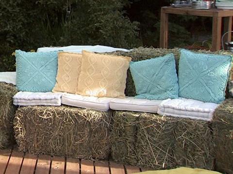 Utilisima v deos living con fardos luz en casa for Utilisima jardineria