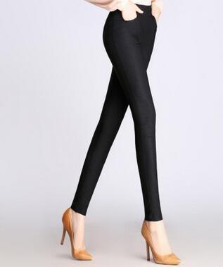 6413bc0fc3f29d Candy Color Pants Women High Stretch Leggings 2019 Black Blue White Female  Skinny Pencil Pants Plus Size Ladies Trousers Casual