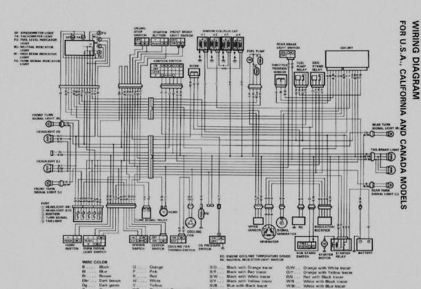 Suzuki X3 Wiring Diagram