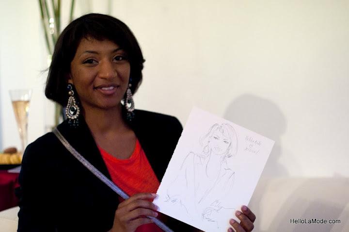 Jess Moore and a great sketch by Jennifer Lilya