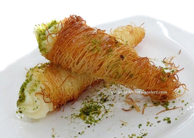 hem lezzet hemde görsel olarak şık ve nefis bir tatlı ..çay saatinlerinde -davet yemeklerinde-iftar sofralarında konuklarınızı ağırlay...