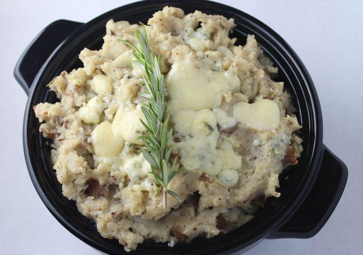 ... Mashed Potatoes, Mashed Potatoes and Roasted Fingerling Potatoes