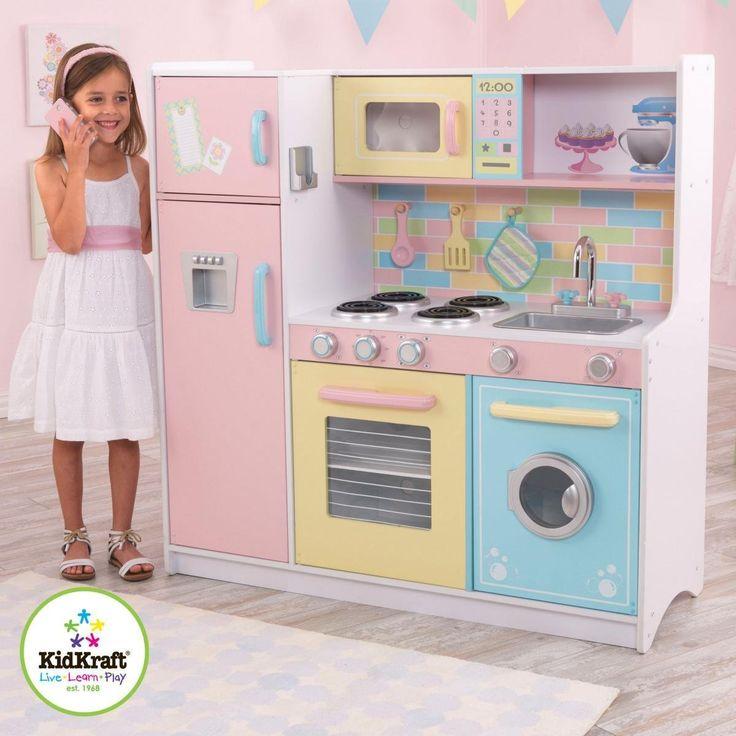 Kidkraft White Vintage Uptown Retro Kitchen Playset For: 17 Best Ideas About Kidkraft Kitchen On Pinterest