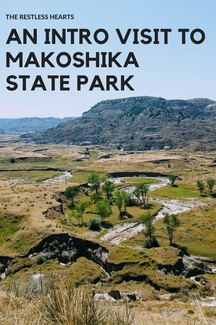 Our first time at Makoshika State Park in Glendive