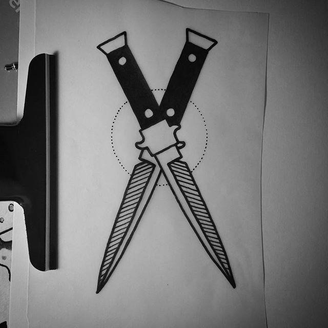 Stiletto Knife Tattoo Designs: 25+ Best Tattoo Filler Ideas On Pinterest