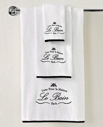 "Kassatex Bath Towels, Le Bain 18"" x 28"" Hand Towel - Bath Rugs & Bath Mats - Macy's"
