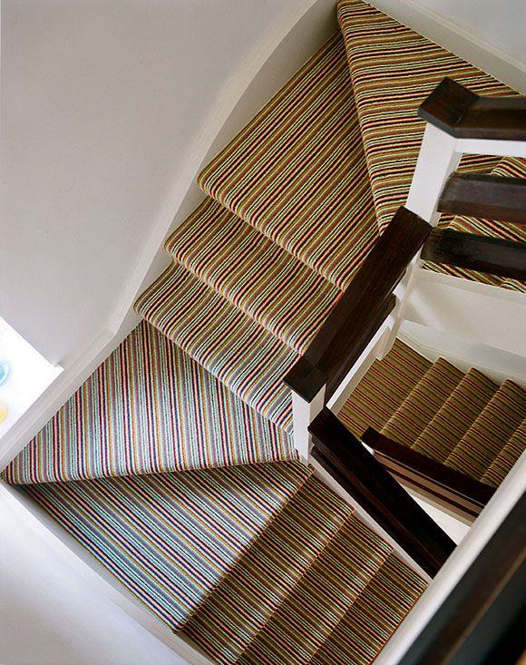 stair runner, striped pattern - Google Search
