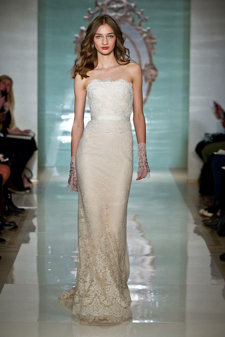 49 best Reem Acra Wedding Dresses images on Pinterest | Wedding ...