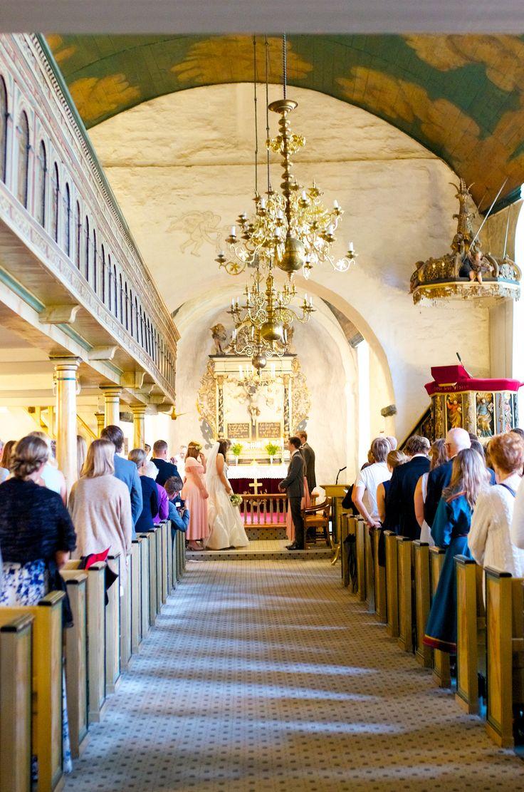 Oddernes Kirke, Kristiansand - Norway 09.08.2014 Michelle & Martin  #wedding  #Kristiansand #OddernesKirke