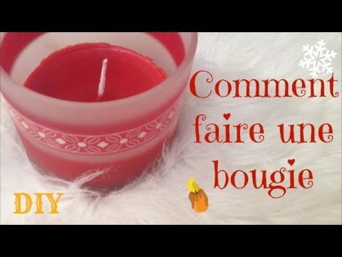 COMMENT FAIRE UNE BOUGIE + UNE MECHE - Recycler ses fonds de bougies DIY