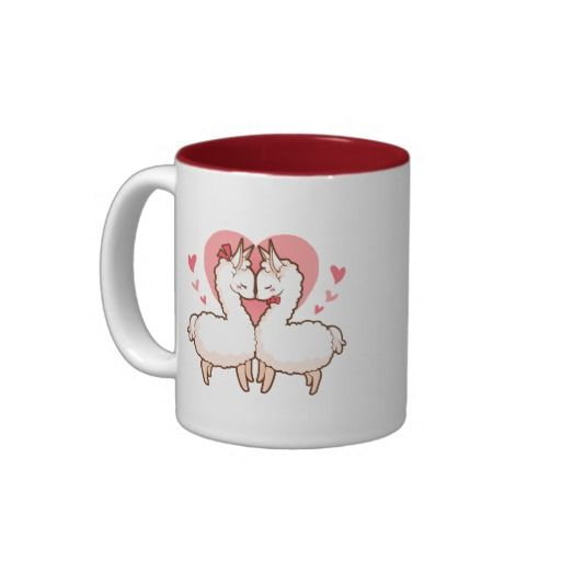 I just love this sweet love llama design! I would love to drink my morning coffee from this cute llama coffee mug! Hint to the boyfriend: I want this for Valentine's Day!