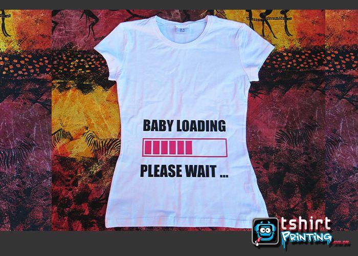 funny fun tshirt for pregnant lady