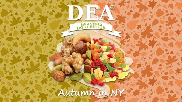 Aroma Autumn in NY di Granny Rita: croccante frutta secca avvolta in una squisita pralina #aromiDEA