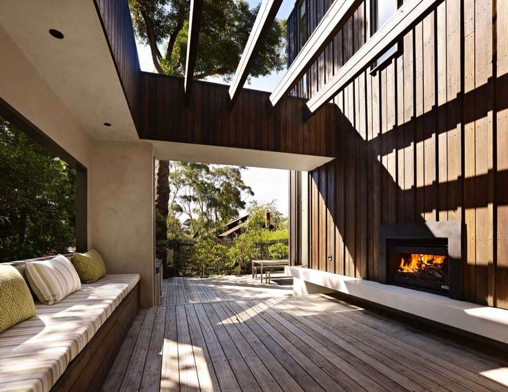 Open Wood Fireplace by Heatmaster Australia : Inddor / Outdoor home design inspiration