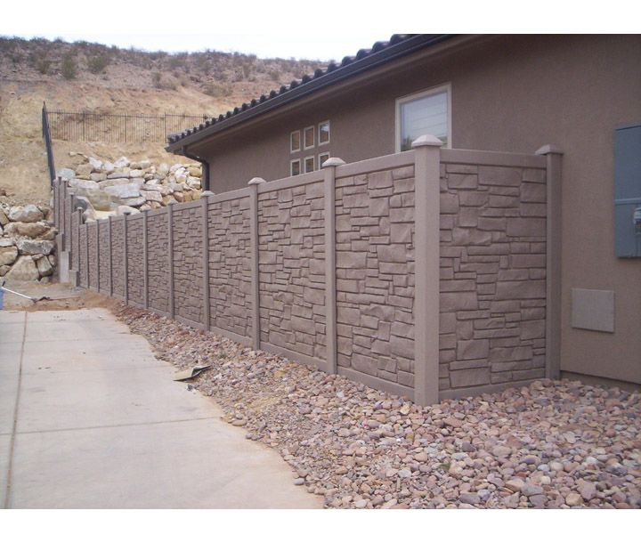 Bufftech Allegheny Vinyl Fence Sections Fence Sections Vinyl Fence Privacy Fence Designs