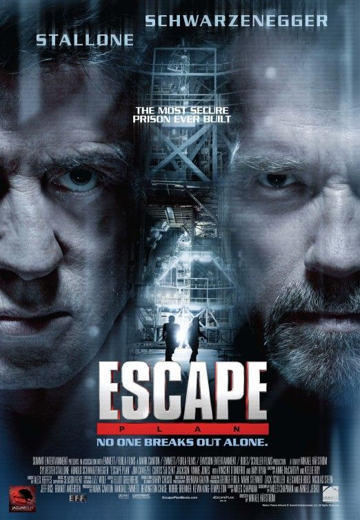 Escape Plan Movie Poster 2