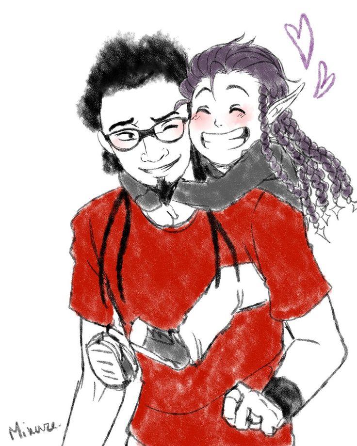 Papa Mahyar et bébé Mani