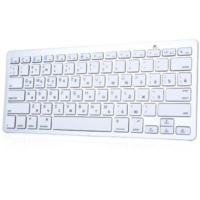 BK3001BA Bluetooth Wireless Russian Keyboard