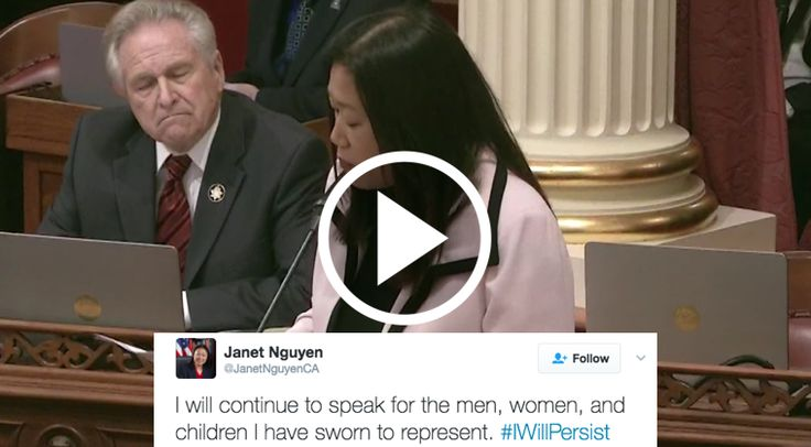 GOP Californian Senator Janet Nguyen was rudely silenced by Democrats for speaking out against deceased Senator Tom Hayden's cozy stance towards communism. According to RedState.org, Nguyen came to the United States from Vietnam at the age of five as a refugee. The outlet also reports that she – as well as many of her constituents …