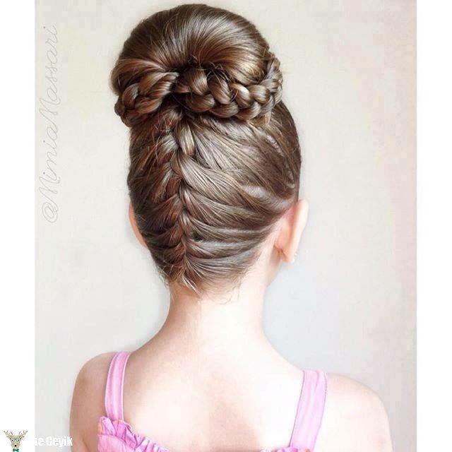 12 Pretty Hairstyles for Flower Girls #prettyhair #hairstyles #girls #flowergirls #pretty #hair #braids