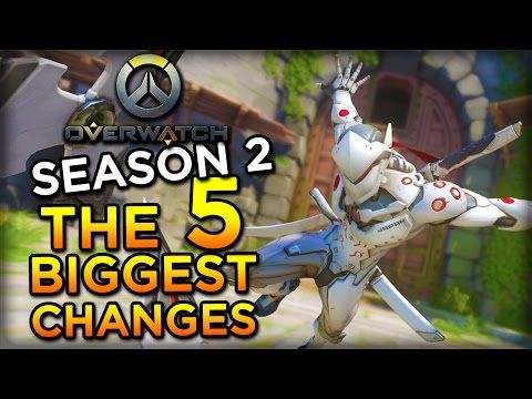 nice The 5 Biggest Changes in Overwatch Season 2
