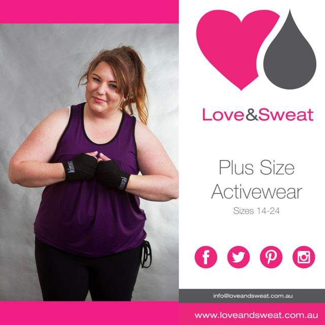 Plus Size Activewear www.loveandsweat.com.au