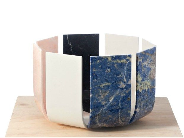 MARBLE VASE SPIKKIO NAT(F)USE COLLECTION BY BUDRI | DESIGN ...