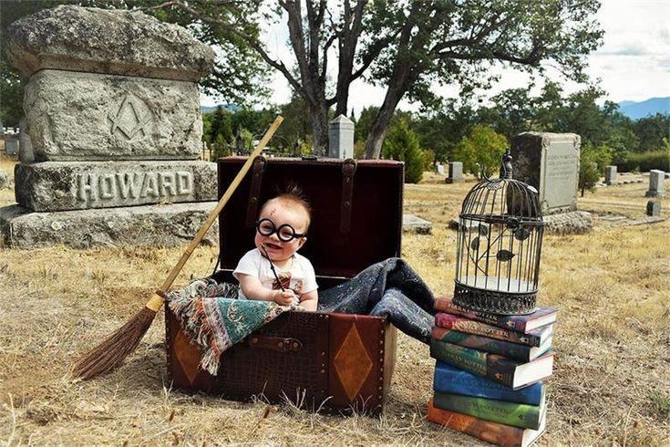 Тематическая фотосессия в стиле Гарри Поттера, покорившая интернет