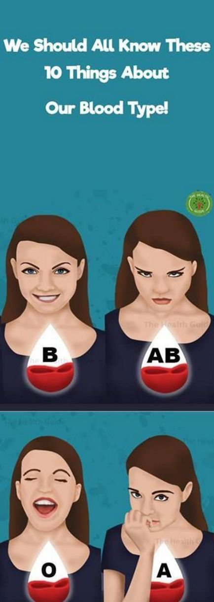 We Should All Know These 10 Things About Our Blood Type! Find Out – Toned Chick