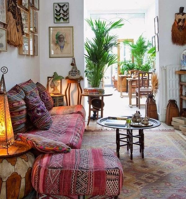 153 best images about rustic industrial decor on pinterest for Bohemian chic living room makeover