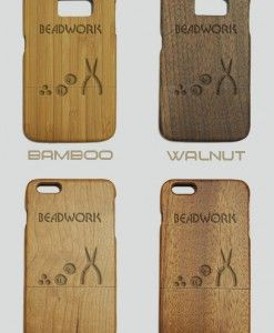 http://woodcases.co/product/beadwork-engraved-wood-phone-case/