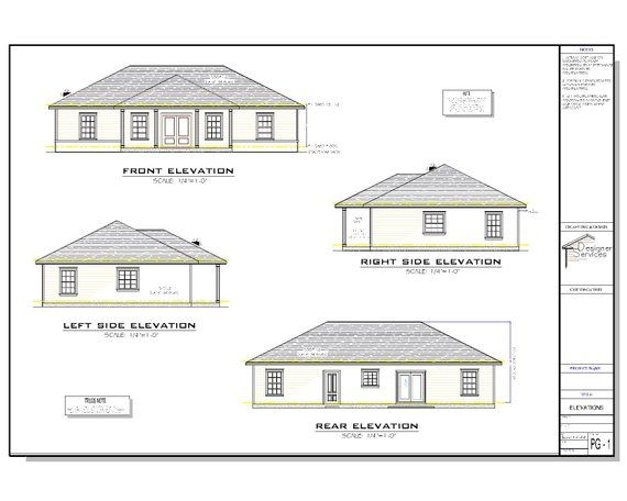 The Willow Lane House Plan Gable Roof Option Etsy In 2020 House Plans House Layout Plans Mediterranean Homes