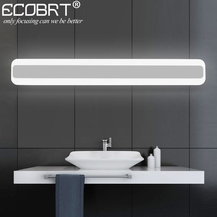 long bathroom light fixtures best 25 led mirror lights ideas on led mirror 19308