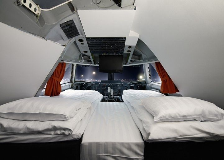 Jumbo Stay, Stockholm, Sweden - SLEEP IN A GROUNDED PLANE!