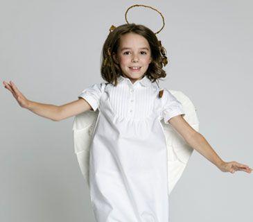 easy angel halloween costumes