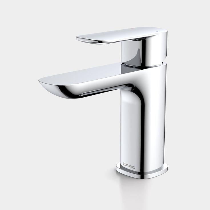 The Caroma Contura Basin Mixer. #caroma #mixertap #conturacollection http://www.caroma.com.au/bathrooms/mixer-taps/contura/contura-basin-mixer