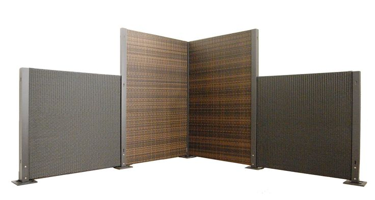 Configurable Wicker Partition System