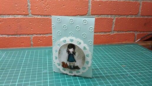 Ghorjus para niñas 7x10cm papel perlado 240gr varios colores