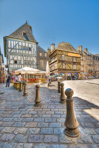 Dinan - Côte d'Armor - Région #Bretagne - #France