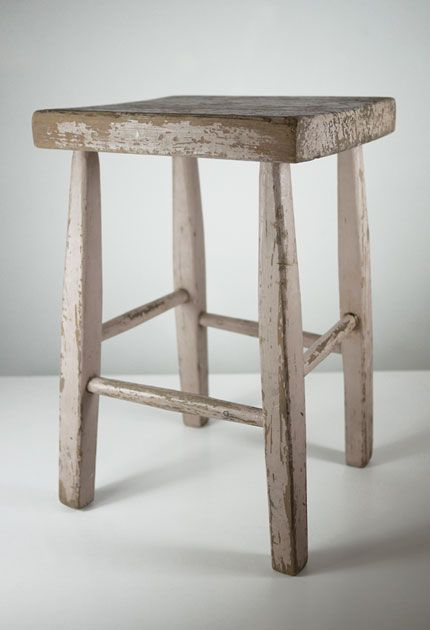 Old Wooden Stool ~ Best images about country milking stools more on