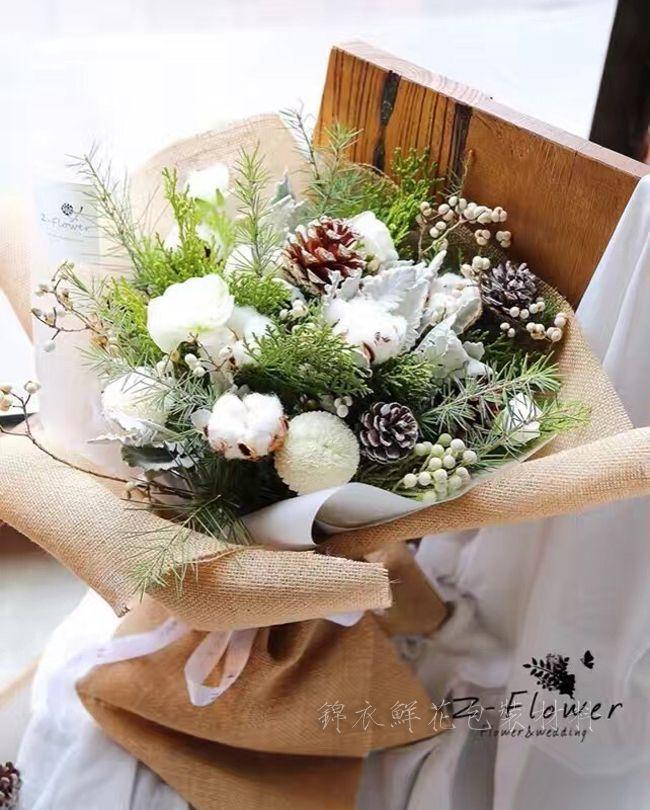 хлопок сухоцвет Хлопок натуральный, диаметр цветка 5-6 см | Флористика