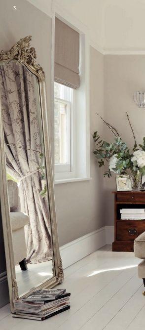 mirror & walls [laura ashley dove grey]