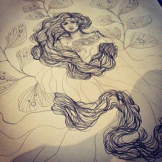 Spring Flowers, Doodles and Cafes April 2015