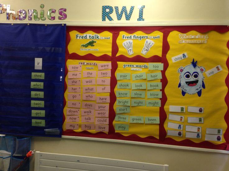 Read Write Inc display board