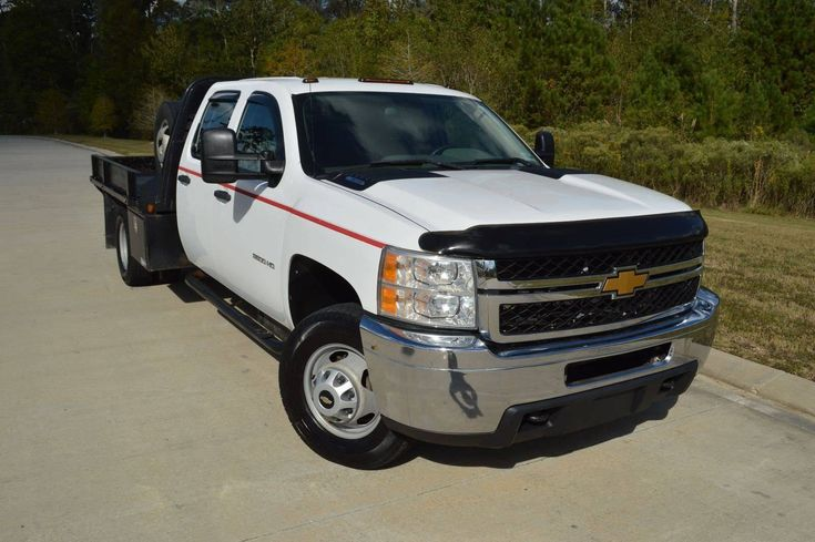 well serviced 2012 Chevrolet Silverado 3500 W/T crew cab