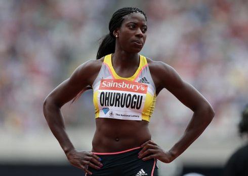 Great Britain's Christine Ohuruogu. Photo: John Walton/PA Wire
