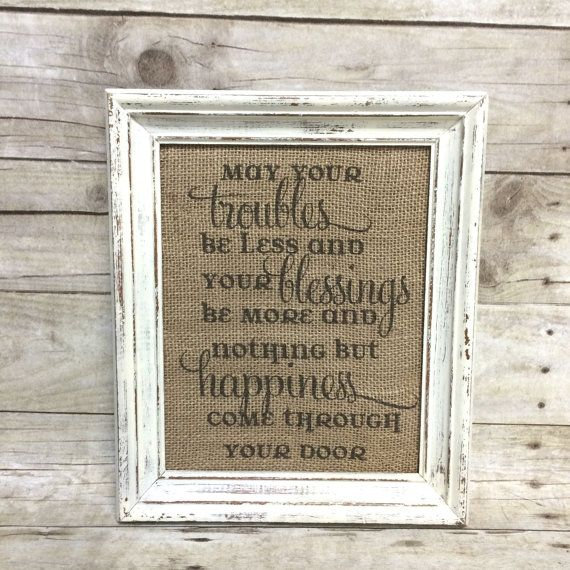 Irish housewarming gifts gift ftempo - House warming blessing ...