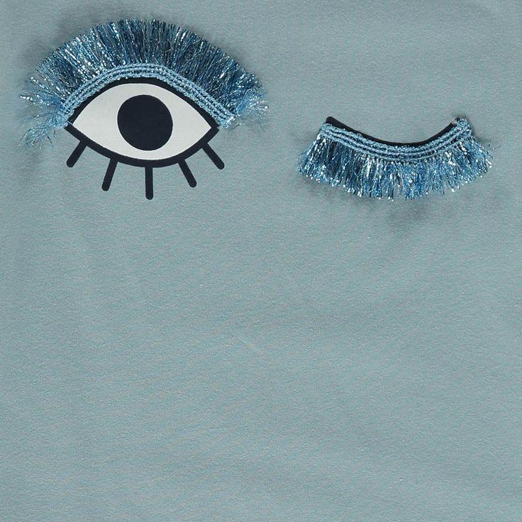 ANNE KURRIS Lola Blink T-shirt Light blue