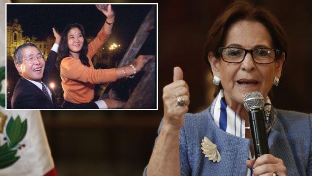 Susana Villarán llamó 'camaleón' a Keiko Fujimori por mostrarse a favor de la Unión Civil y el aborto terapéutico